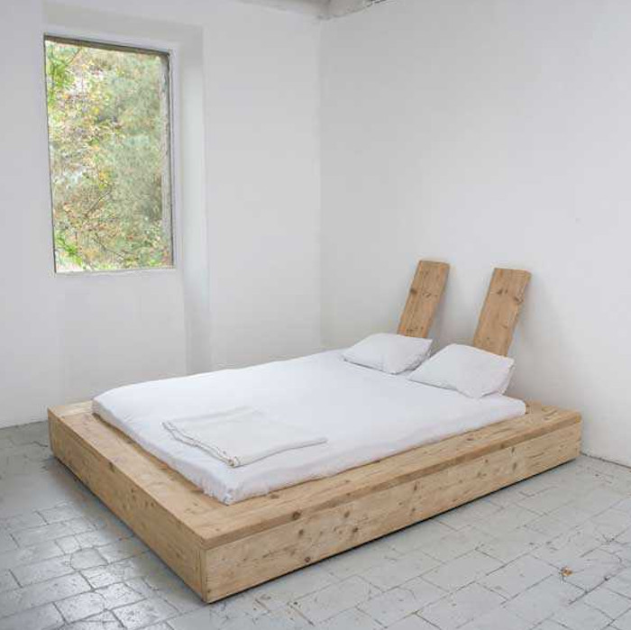 Best ideas about DIY Wood Beds . Save or Pin A DIY Bed Made from Reclaimed Wood Remodelista Now.