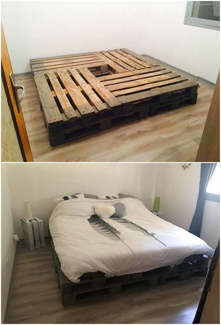 Best ideas about DIY Wood Beds . Save or Pin Best 25 Pallet bed frames ideas on Pinterest Now.