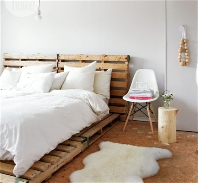 Best ideas about DIY Wood Beds . Save or Pin Catchy and Distinct Style Pallet Bed DIY Now.