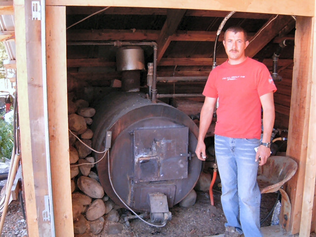 Best ideas about DIY Wood Boilers . Save or Pin Sawmill and bandmill blog Homemade kiln that everyone Now.