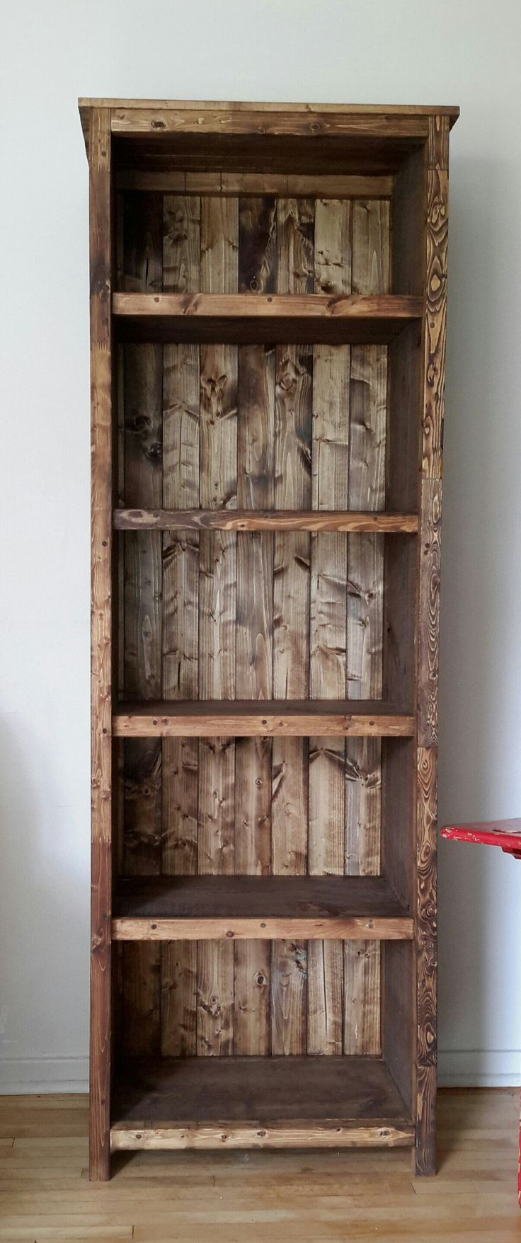 Best ideas about DIY Wood Bookshelves . Save or Pin 25 best ideas about Rustic Bookshelf on Pinterest Now.