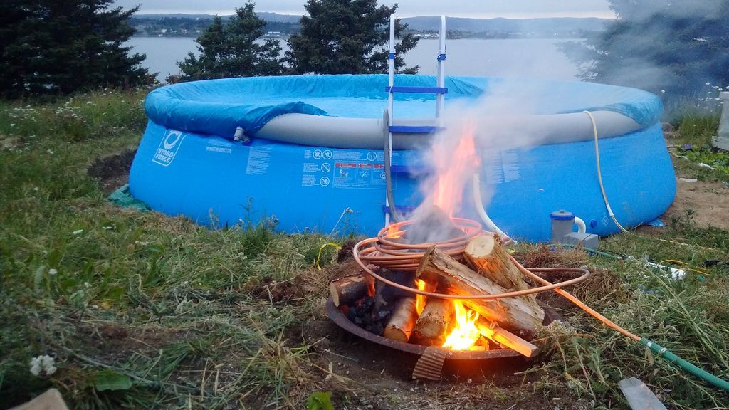 Best ideas about DIY Wood Burning Pool Heater . Save or Pin Wood Burning Pool Heater For the Home Now.