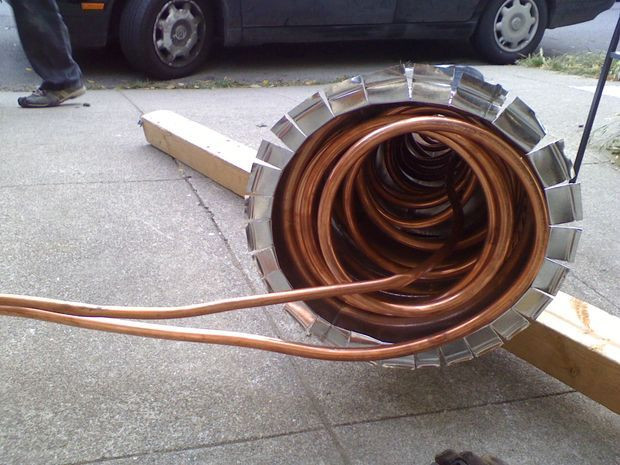 Best ideas about DIY Wood Burning Pool Heater . Save or Pin Wood Fired Ocean Hot Tub Thermosiphon Hot Tub Now.