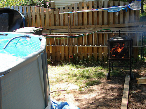 Best ideas about DIY Wood Burning Pool Heater . Save or Pin Wood Burning Pool Heater Now.