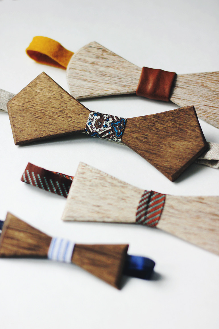 Best ideas about DIY Wood Christmas Gifts . Save or Pin DIY Wooden Bow Tie The Merrythought Now.