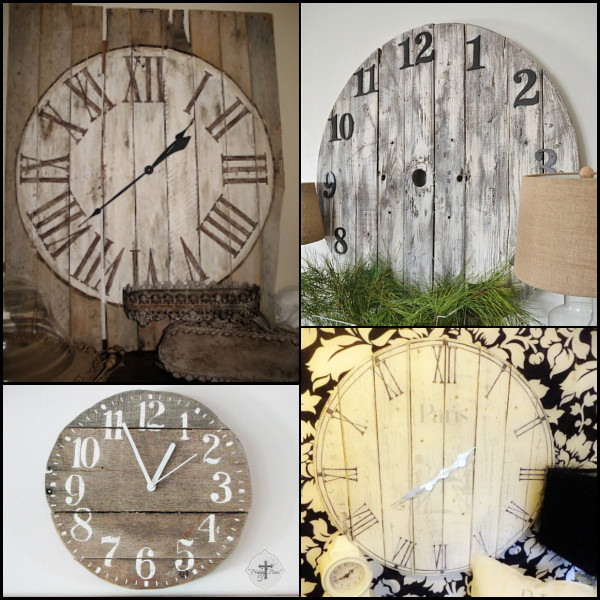 Best ideas about DIY Wood Clocks . Save or Pin 16 Pallet Clock Tutorials Now.