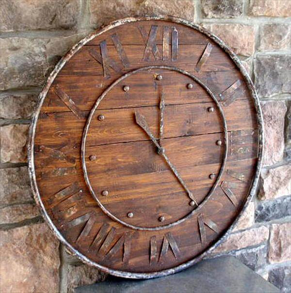 Best ideas about DIY Wood Clocks . Save or Pin 14 DIY Clocks Made From Reclaimed Wood Now.