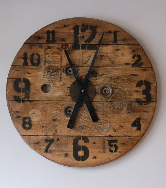 Best ideas about DIY Wood Clocks . Save or Pin 87 best images about barn wood projects on Pinterest Now.