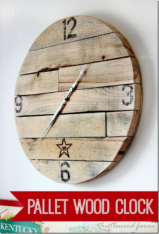 Best ideas about DIY Wood Clocks . Save or Pin Trash to Treasure How to Make a Pallet Wood Clock Now.