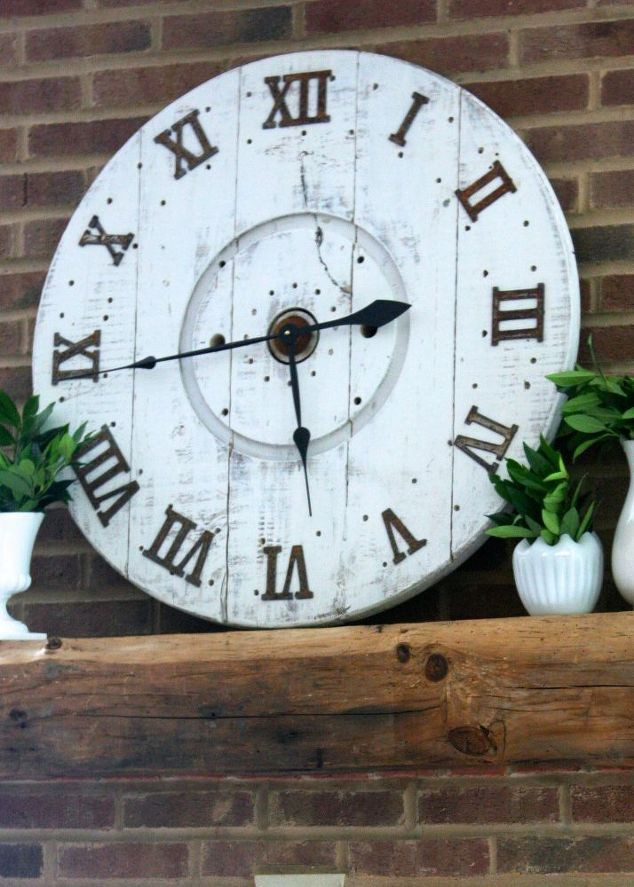 Best ideas about DIY Wood Clocks . Save or Pin DIY Spool Clock Now.