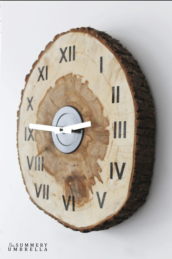 Best ideas about DIY Wood Clocks . Save or Pin Learn How to Create a Custom DIY Wood Slice Clock Now.