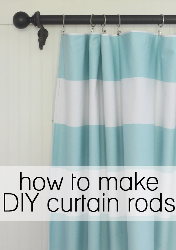 Best ideas about DIY Wood Curtain Rod . Save or Pin How to make your own DIY curtain rods Now.