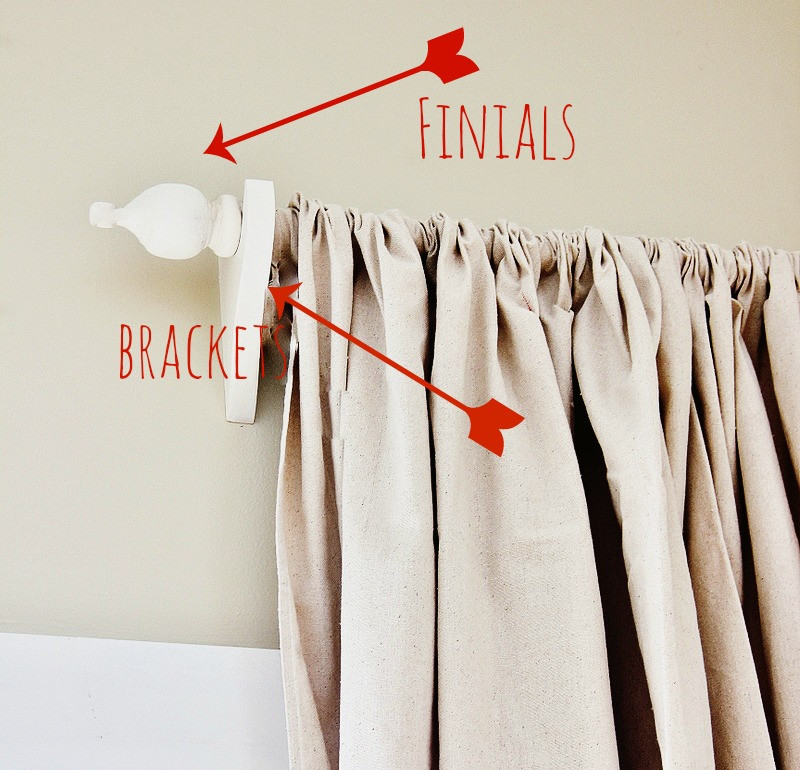 Best ideas about DIY Wood Curtain Rod . Save or Pin Remodelaholic Now.
