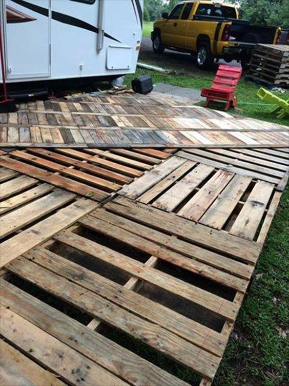 Best ideas about DIY Wood Decking . Save or Pin DIY Pallet Deck Ideas and Instructions Our home Now.
