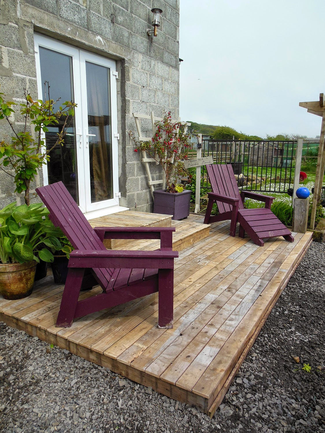 Best ideas about DIY Wood Decking . Save or Pin Coach House Crafting on a bud Diy pallet wood decking Now.