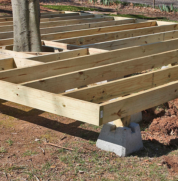Best ideas about DIY Wood Decking . Save or Pin How to Build a Fabulous DIY Floating Deck Now.