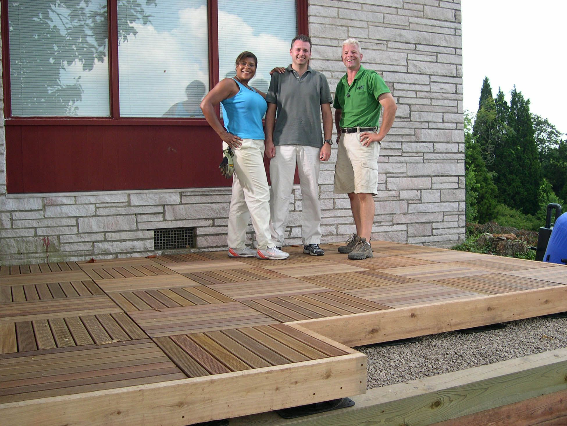 Best ideas about DIY Wood Decking . Save or Pin DIY network patio deck supports pedestal system Now.