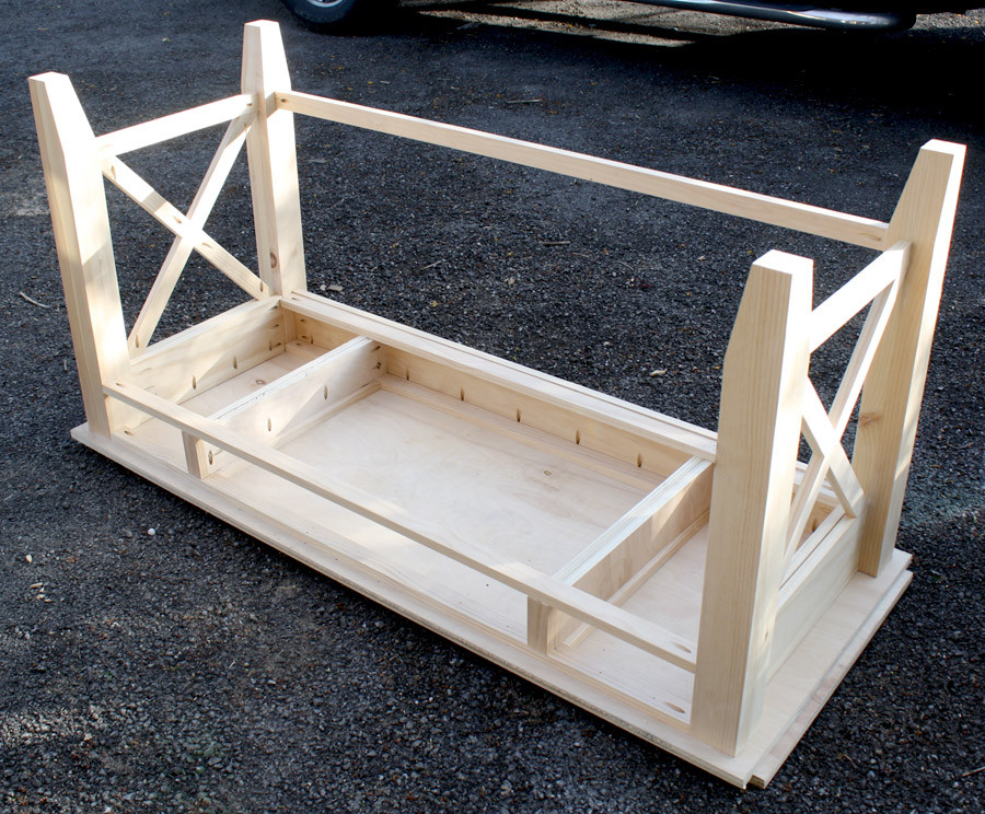 Best ideas about DIY Wood Desk . Save or Pin DIY Writing Desk Now.