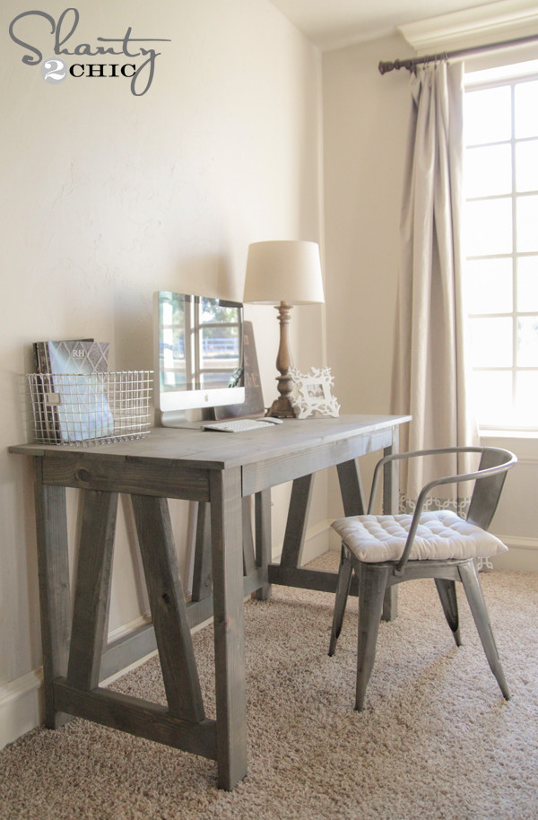 Best ideas about DIY Wood Desk . Save or Pin Free Woodworking Plans DIY Desk Now.