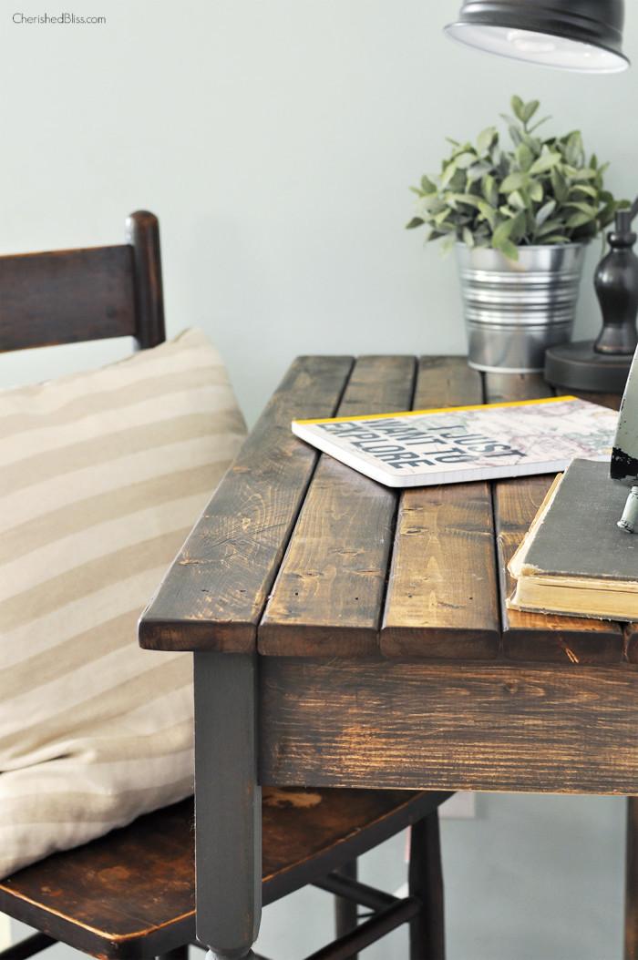 Best ideas about DIY Wood Desk . Save or Pin 25 Stylish DIY Desks Now.
