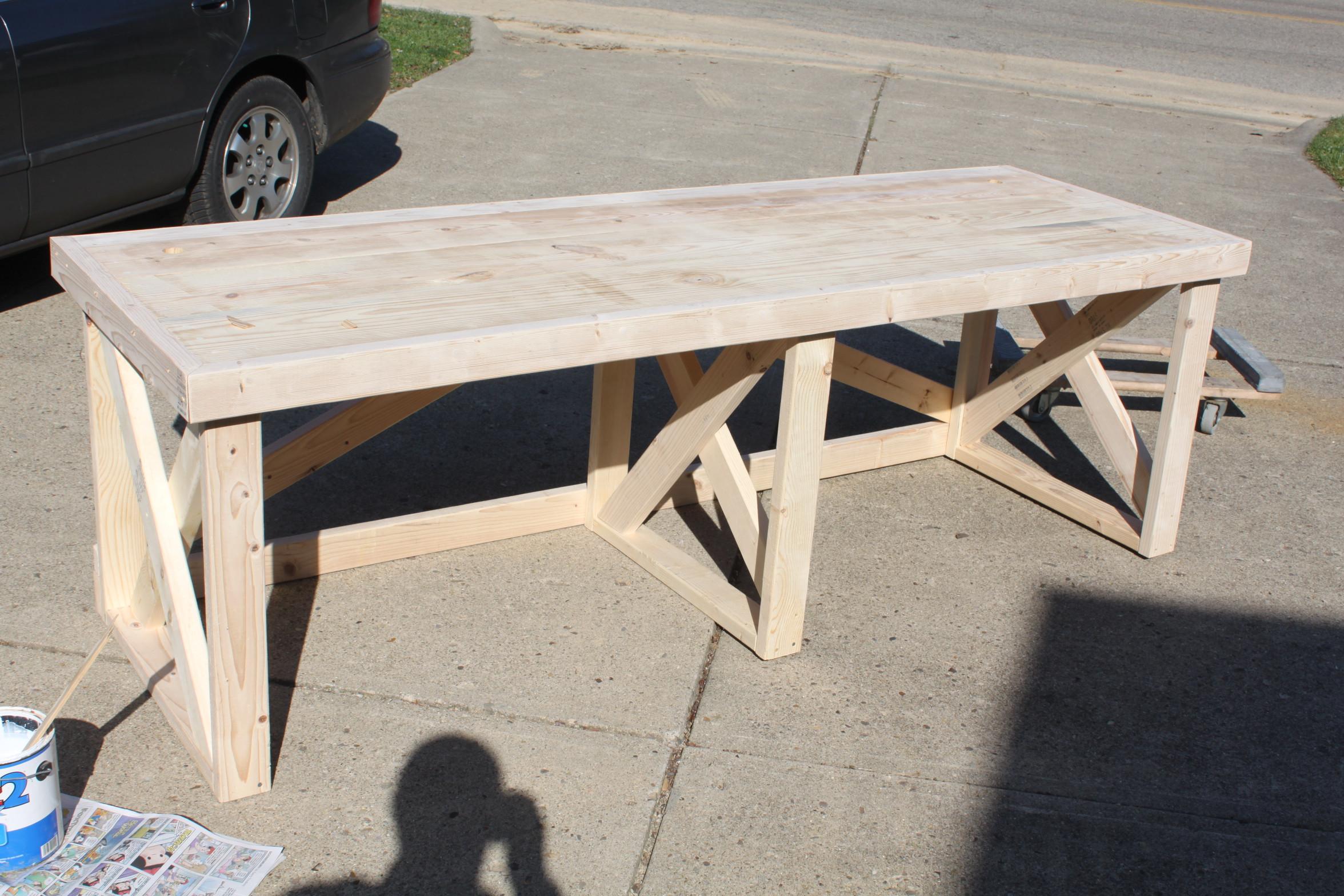 Best ideas about DIY Wood Desk . Save or Pin DIY Desk Plans 2×4 PDF Download wood fence hardware Now.