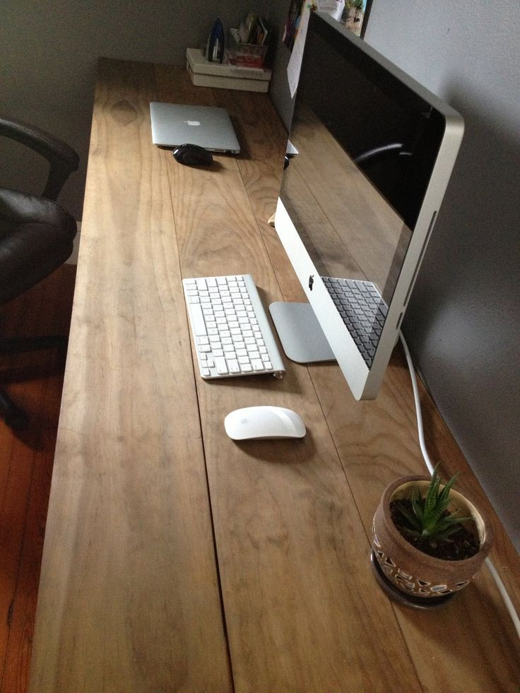 Best ideas about DIY Wood Desk Top . Save or Pin Best 25 Wooden desk ideas on Pinterest Now.