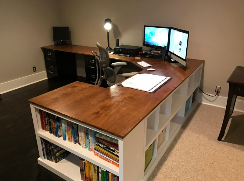 Best ideas about DIY Wood Desk Top . Save or Pin 23 DIY puter Desk Ideas That Make More Spirit Work Now.