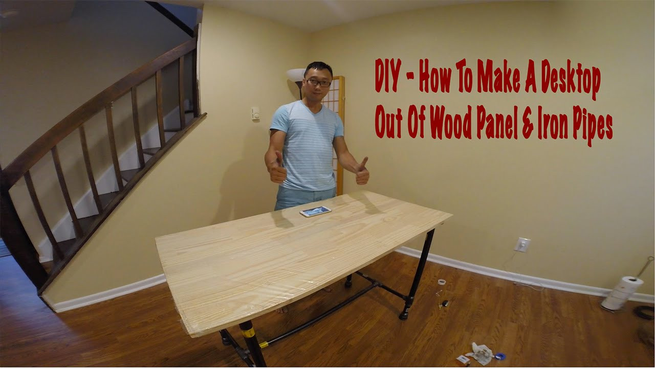 Best ideas about DIY Wood Desk Top . Save or Pin DukePro Now.