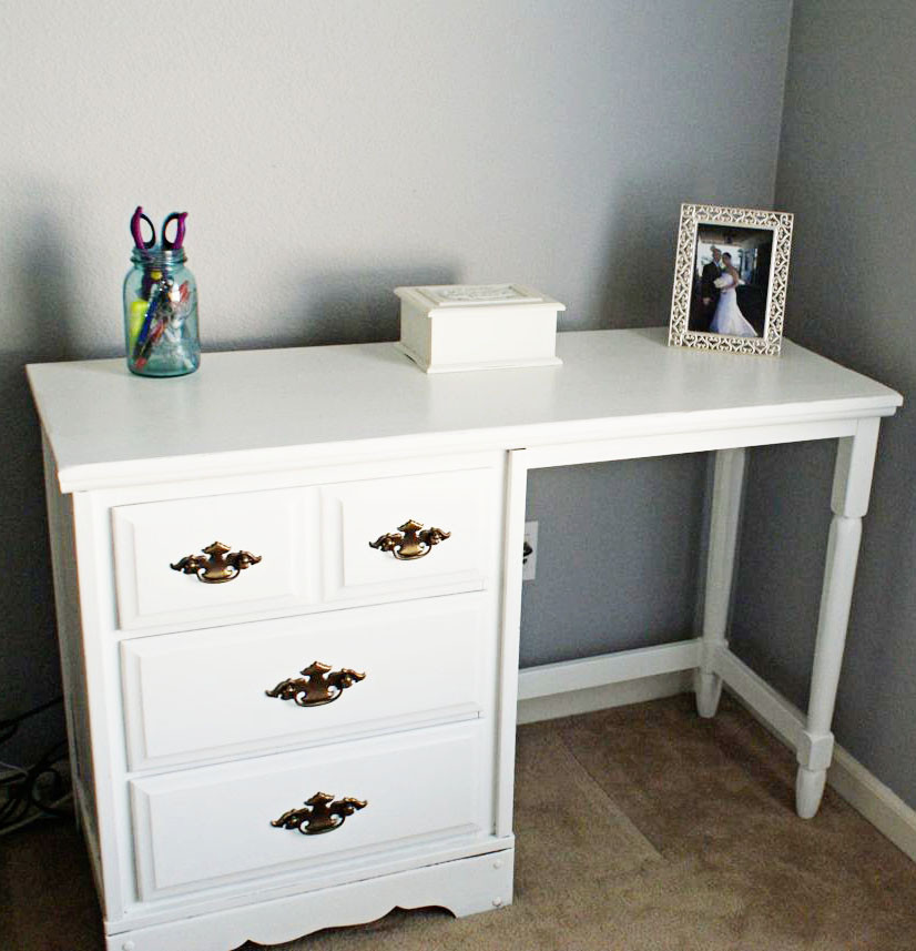Best ideas about DIY Wood Desk . Save or Pin DIY Small Wood Desk Now.