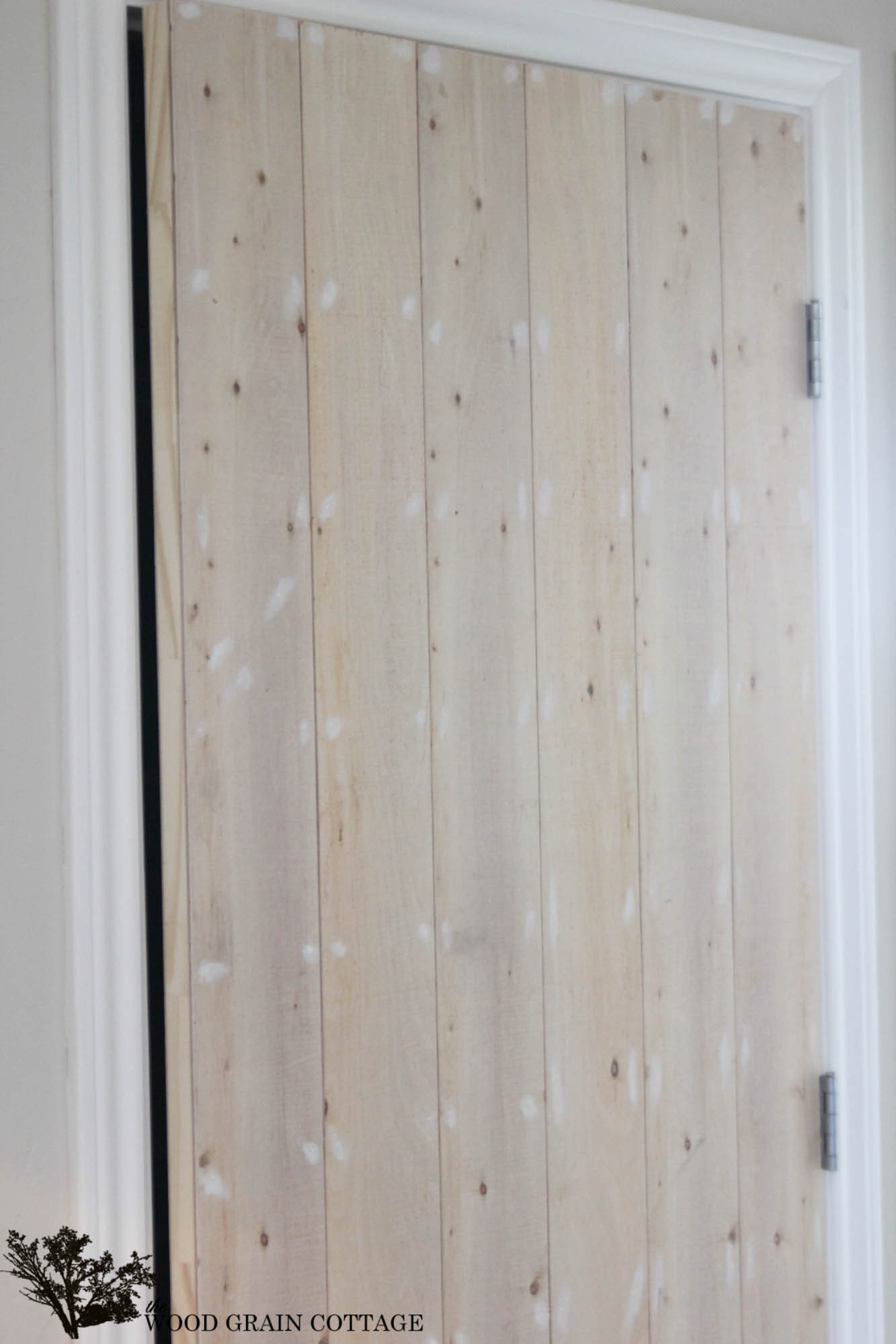 Best ideas about DIY Wood Doors . Save or Pin DIY Wood Planked Pantry Door The Wood Grain Cottage Now.