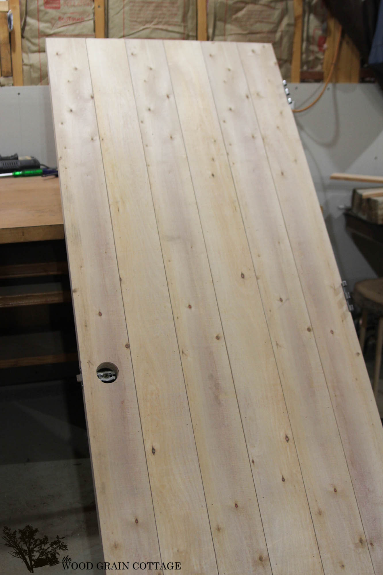 Best ideas about DIY Wood Doors . Save or Pin How to Wood Plank a Door Infarrantly Creative Now.