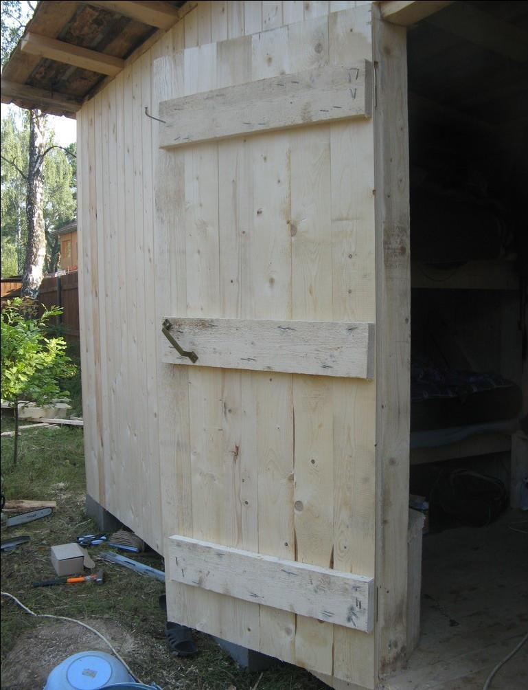 Best ideas about DIY Wood Doors . Save or Pin Window Door Self made wooden shed door photos DIY wood Now.