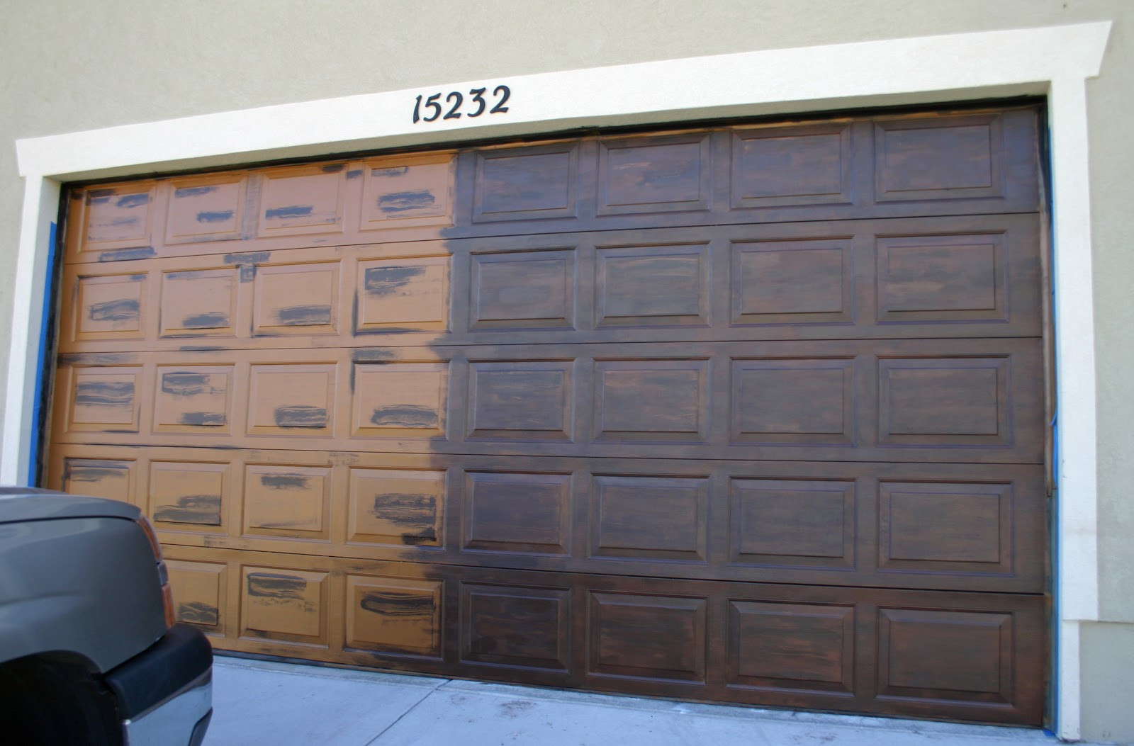 Best ideas about DIY Wood Garage Doors . Save or Pin Moody Girl Projects Garage Door Take 2 Now.