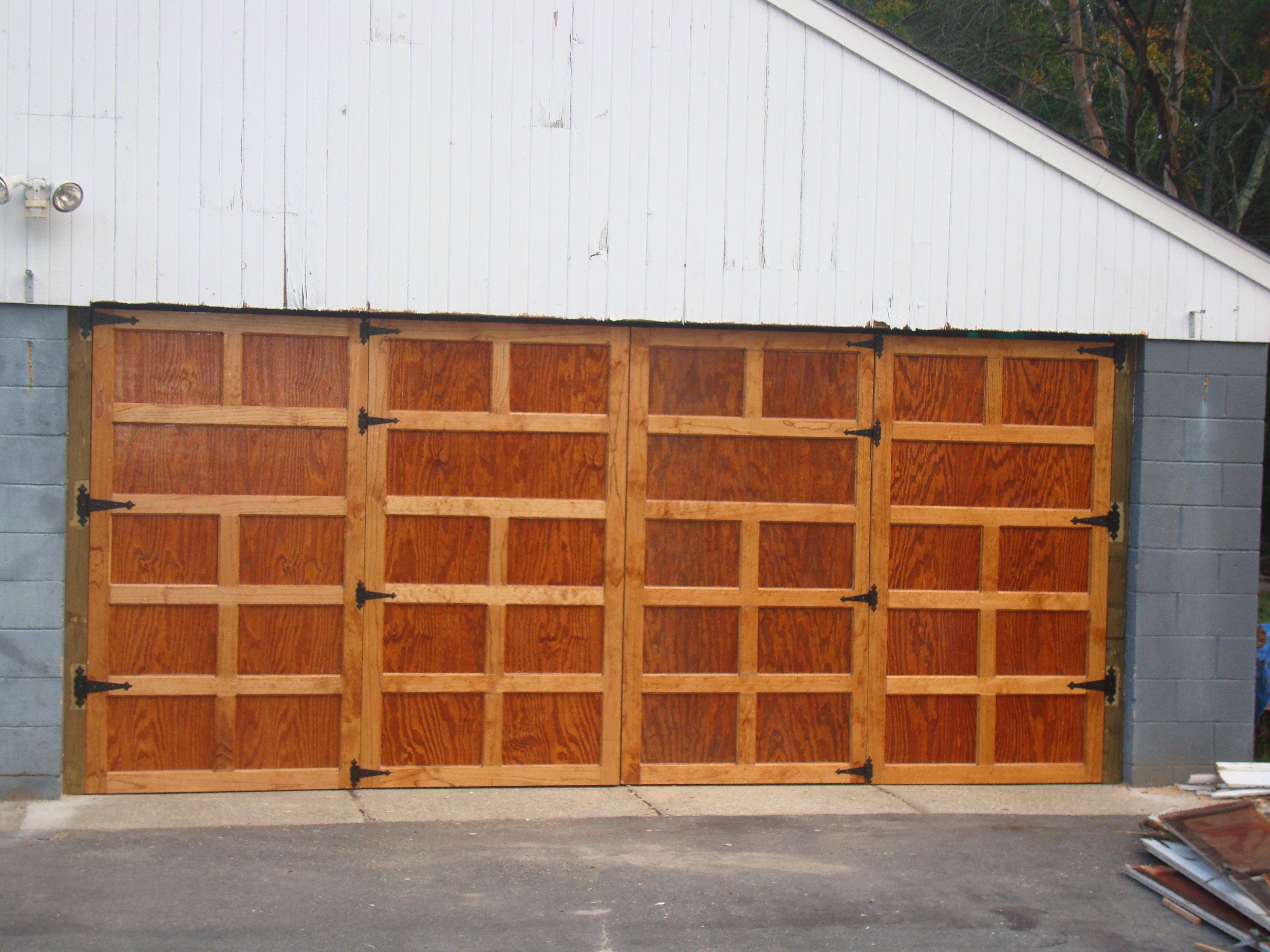 Best ideas about DIY Wood Garage Doors . Save or Pin DIY Garage Doors DIY Now.