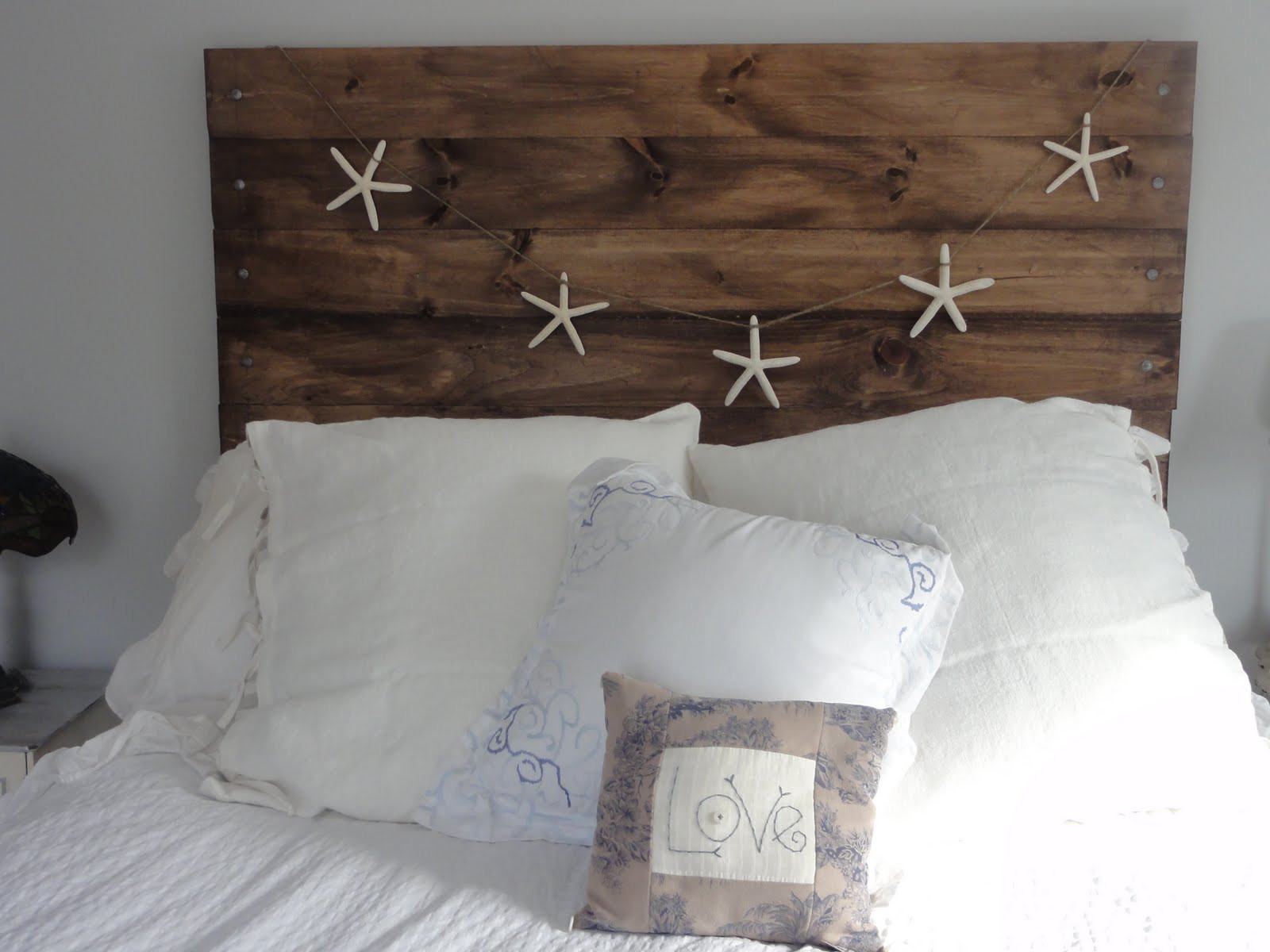 Best ideas about DIY Wood Headboard Plans . Save or Pin DIY Project A Reclaimed Wood Heaboard Finding Silver Now.