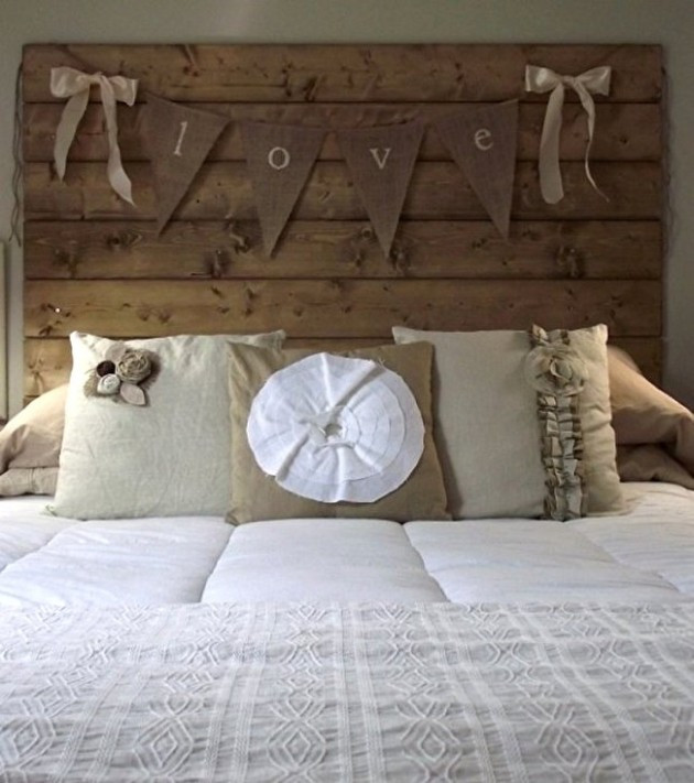 Best ideas about DIY Wood Headboard Plans . Save or Pin 38 Creative DIY Vintage Headboard Ideas Now.