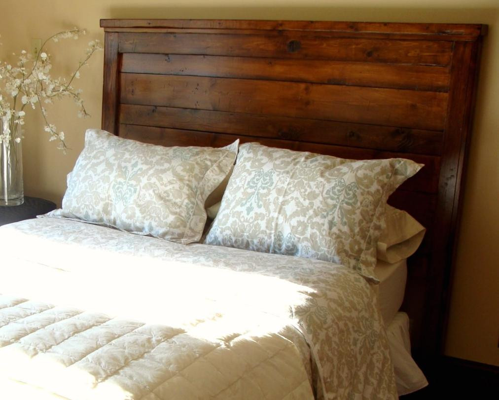 Best ideas about DIY Wood Headboard Plans . Save or Pin Hodge Podge Lodge The search for a headboard Now.