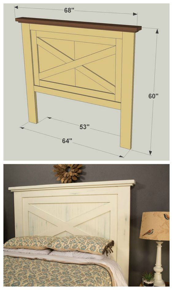 Best ideas about DIY Wood Headboard Plans . Save or Pin DIY Headboard Project Ideas The Idea Room Now.