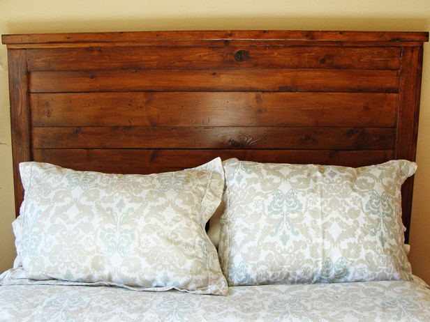 Best ideas about DIY Wood Headboard Plans . Save or Pin How to Build a Rustic Wood Headboard how tos Now.