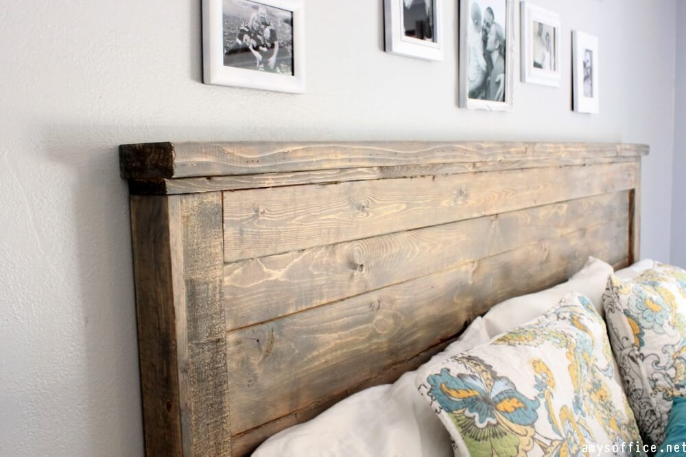Best ideas about DIY Wood Headboard Plans . Save or Pin DIY Headboard Ideas DIY Headboard Now.