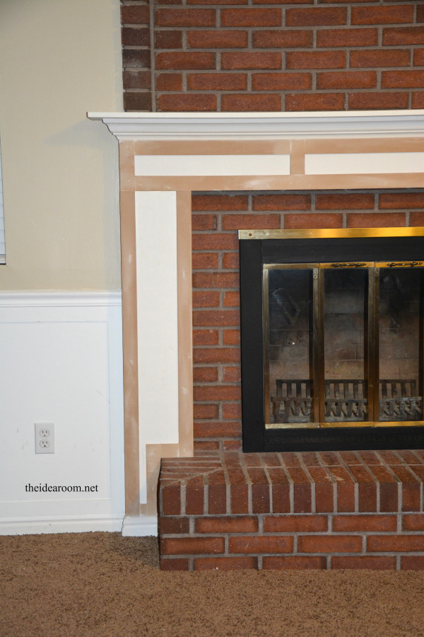 Best ideas about DIY Wood Mantel . Save or Pin DIY Fireplace Mantel The Idea Room Now.
