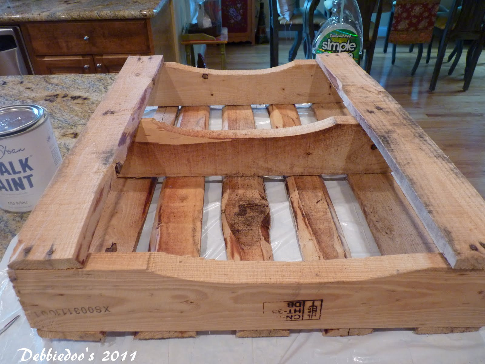 Best ideas about DIY Wood Pallets . Save or Pin Upcycling a wood pallet DIY project FREE Debbiedoo s Now.