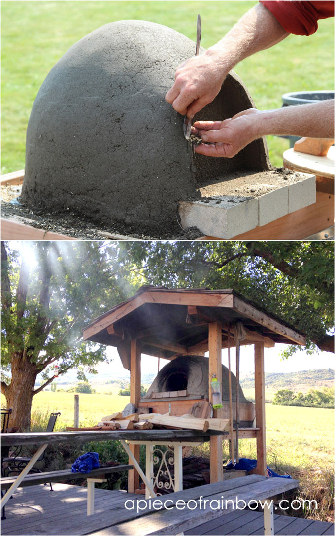 Best ideas about DIY Wood Pizza Oven . Save or Pin DIY Wood Fired Outdoor Pizza Oven Simple Earth Oven in 2 Now.