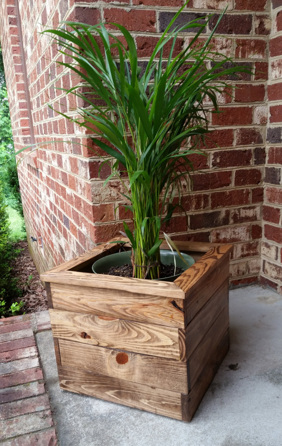 Best ideas about DIY Wood Planter . Save or Pin Reclaimed Pallet Wood Indoor Planter Box by AJSCreationsCo Now.