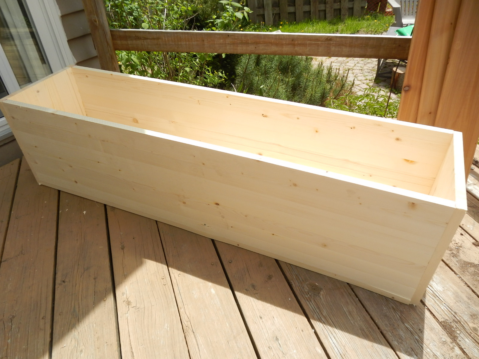 Best ideas about DIY Wood Planter . Save or Pin Planting for Privacy – DIY Wood Planter Now.