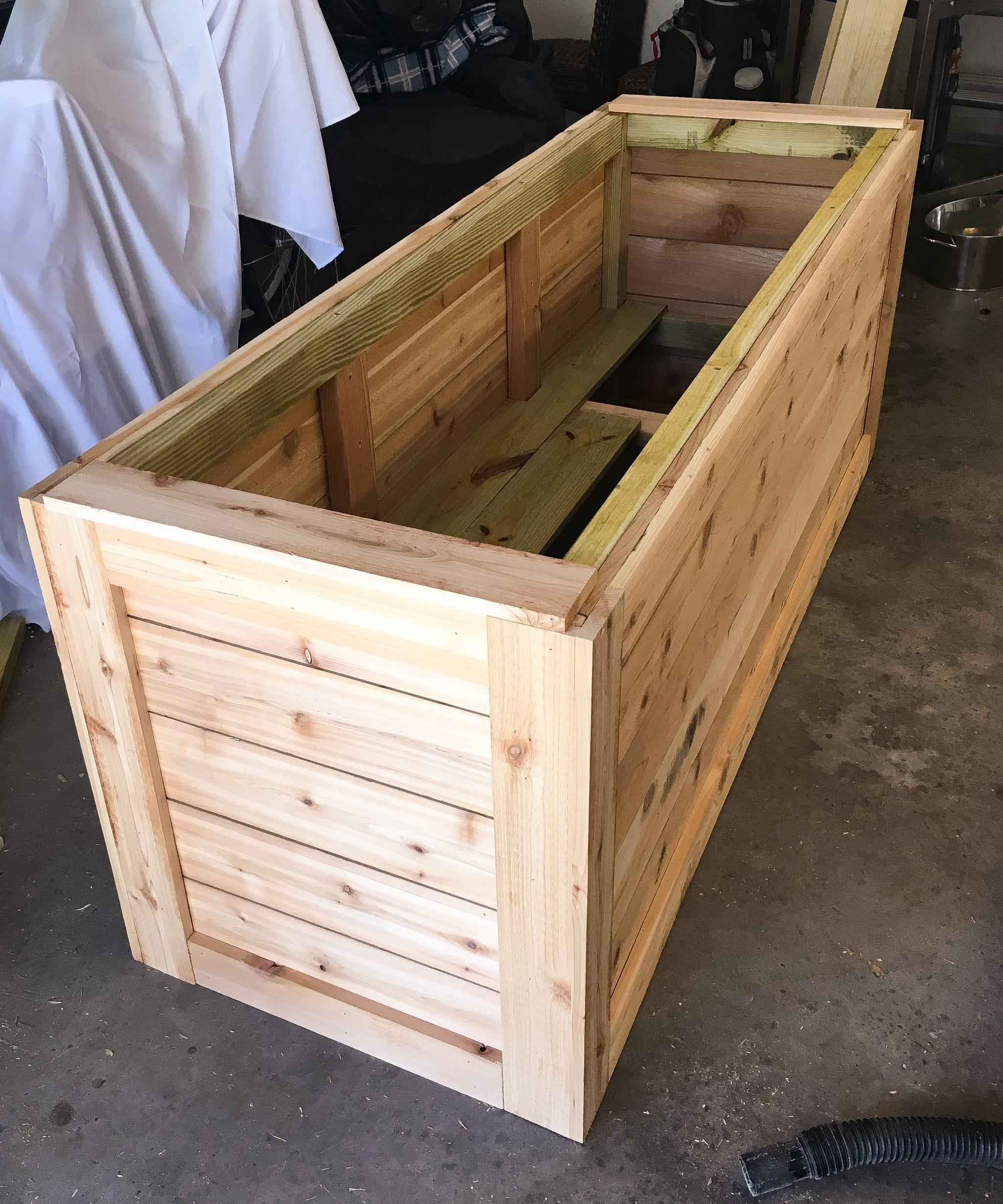 Best ideas about DIY Wood Planter . Save or Pin BACKYARD DIY SERIES PART IIII Cedar Wood Planter Box Now.