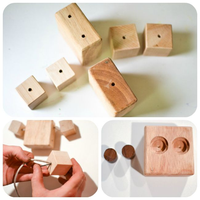 Best ideas about DIY Wood Projects For Kids . Save or Pin DIY Wooden Robot Buddy Easy Project for Kids Now.