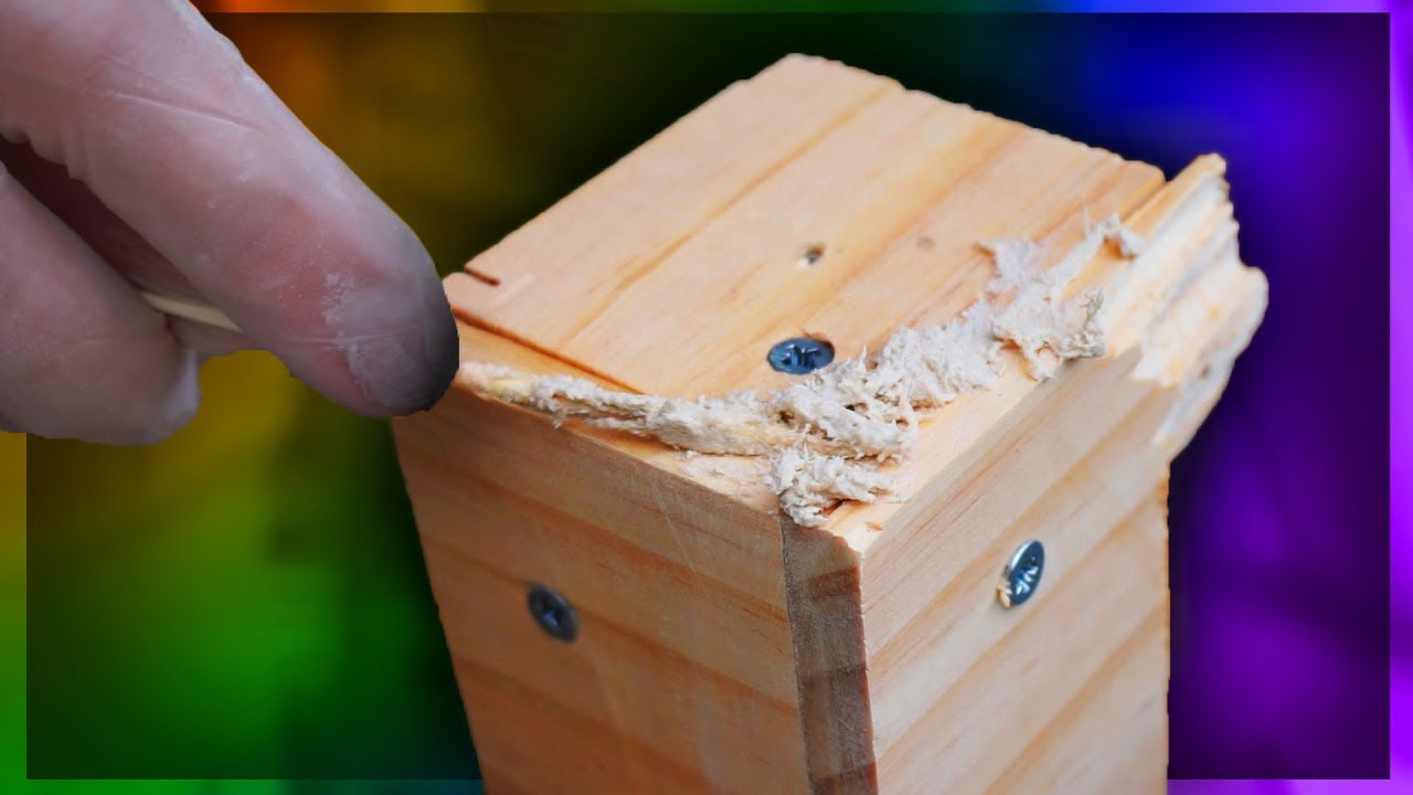 Best ideas about DIY Wood Putty . Save or Pin How to make WOOD FILLER from Sawdust DIY Now.
