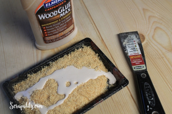 Best ideas about DIY Wood Putty . Save or Pin DIY Wood Countertop and Wood Filler for the Kitchen Now.