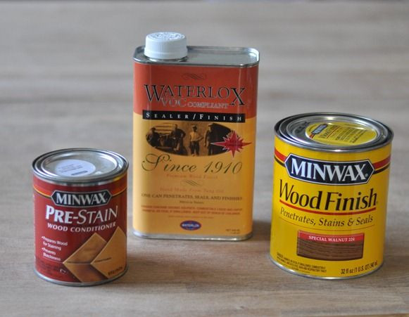 Best ideas about DIY Wood Sealer . Save or Pin Bathroom Countertops Done paint and stain Now.